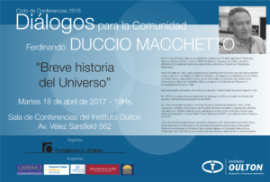 Ferdinando Duccio Macchetto 2017